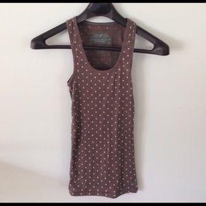 American Eagle Ribbed Tank Top Size Medium